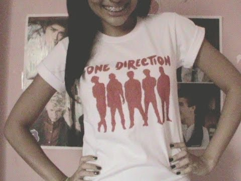 DIY One Direction T-shirt/Camisa