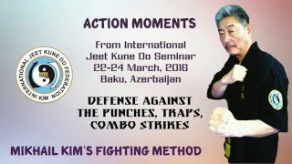70 YEARS OLD MARTIAL ARTS MASTER: Mikhail Kim's Jeet Kune Do Self-Expression. Must See!