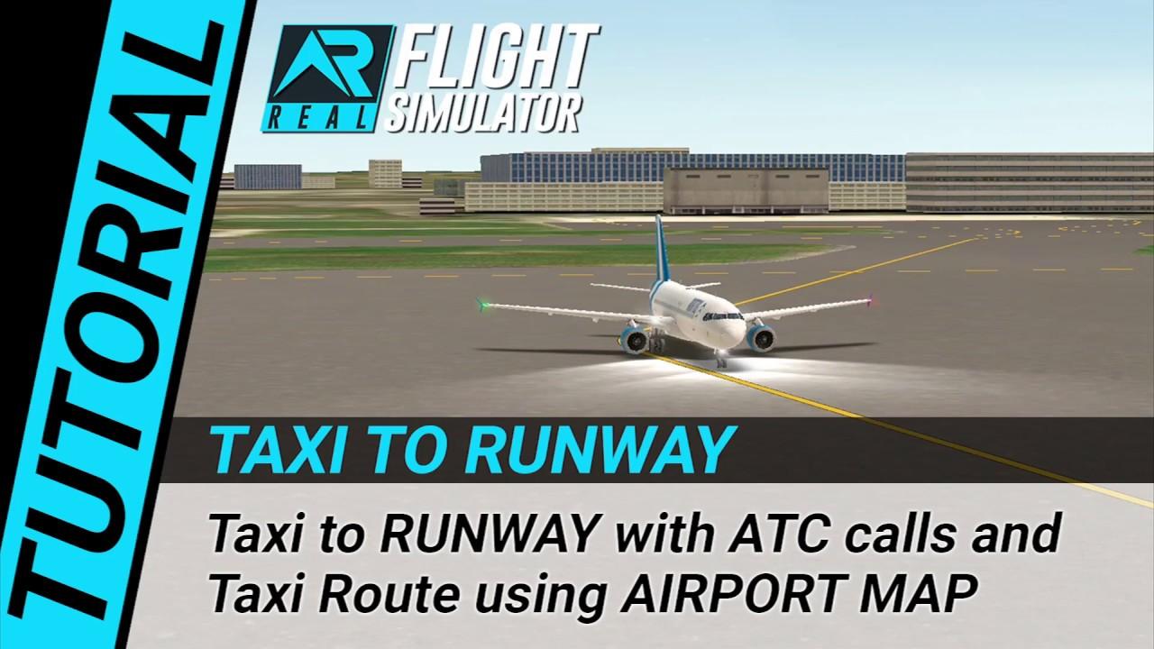 RFS Real Flight Simulator - Tutorial: Taxi to RUNWAY