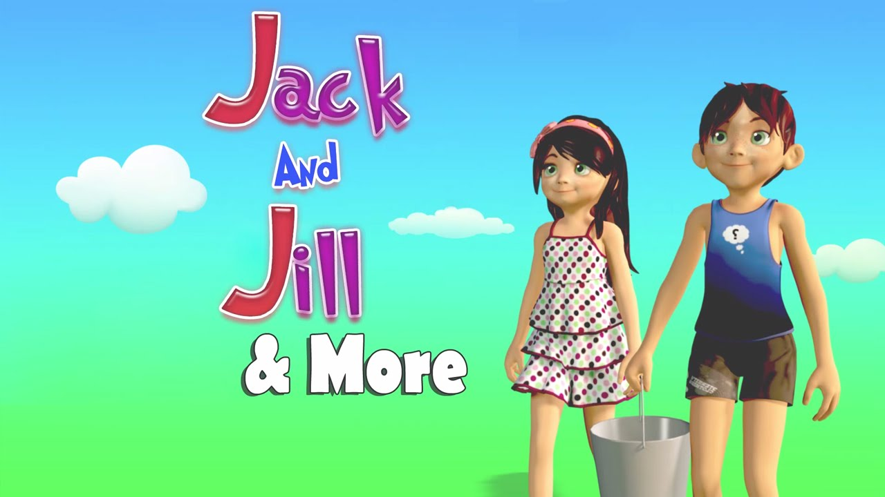 Jack And Jill Went Up The Hill Animation English Nursery Rhymes For Children Kids Songs