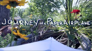 journey of a paper airplane