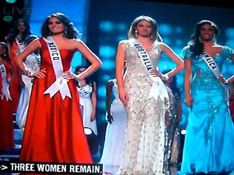 miss universe 2010 top 5 crowning mexico youtube