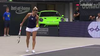 Camila Giorgi wins in Linz (even shorter dress)