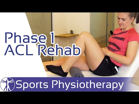 ACL Rehab Phase 1 | Anterior Cruciate Ligament Reconstruction Exercises