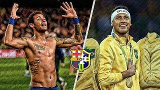 When Neymar Jr Saves Barcelona  Brazil Alone  HD