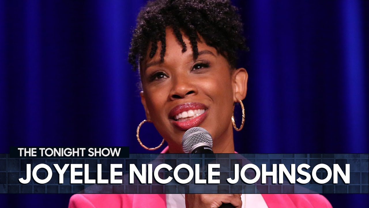 Joyelle Nicole Johnson Moved In with Her Pandemic Boyfriend | The Tonight Show Starring Jimmy Fallon