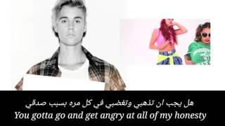 Justin Bieber - Sorry مترجمة