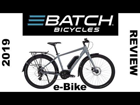 Batch Bicycles E-Commuter e-bike Review | Class 1 Electric Bike