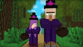 Witch & Villager Life I - Minecraft Animation