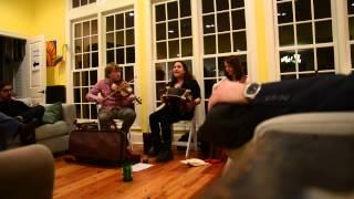 Folklore Cajun Music at a house in Lafayette, La.