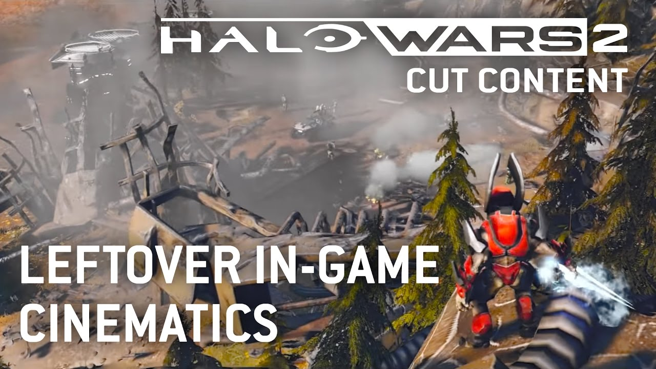 Halo Wars 2 Cut Content - Leftover In-Game Cinematics  Gamecheat13 10:41 HD