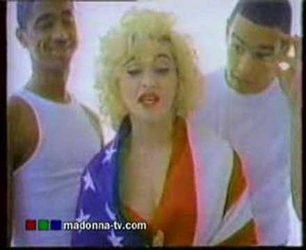 Madonna - Rock The Vote! Advert (1990)