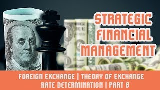 Strategic Financial Management | Foreign Exchange | Theory of Exchange Rate Determination | Part 6