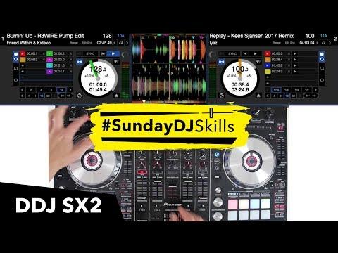 Pioneer DDJ SX2 - Hip Hop/Drum & Bass Mix - #SundayDJSkills