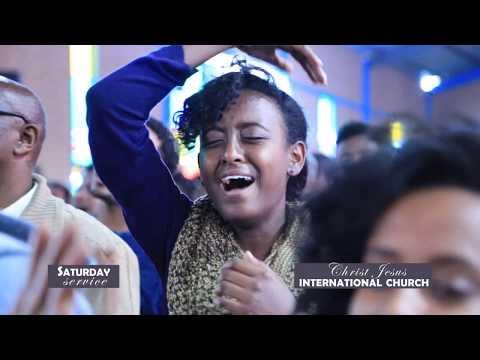 CJ TV Apostle Tamrat Tarekegn megabit 1 2009 Part 1 worship