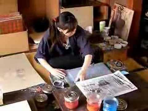 Japanese Traditional Craft Culture Wood Block Prints by Yuko Harada from Takezasado