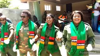 Zambia army, ZAFF, ZNS, ZP, ZCS..Rehearsal
