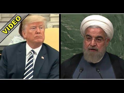 BARACK OBAMA CRINGES AS DONALD TRUMP EYEBALLS CORRUPT IRAN DEAL!