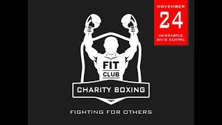 F.I.T. Club White Collar Charity Boxing   In Aid Of Huntington's Disease