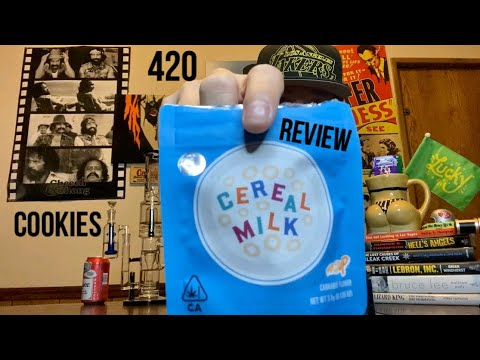 Cereal Milk Weed Review By Cookies - YouTube