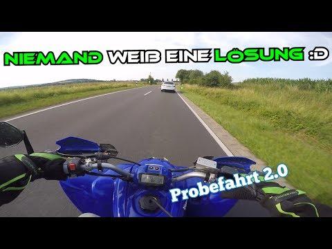 Probefahrt 2.0   Was ist nur falsch mit der Yamaha ?   Quad-Vlog 33