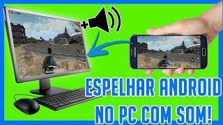 COMO ESPELHAR TELA DO ANDROID NO PC COM ÁUDIO!  SÓ FUNCIONA NO WINDOWS 10 COM WIFI