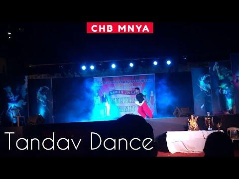 ShivTandav/ Dance/ by Chetan Bangal/kshitij 2015 /DPCOE/ Pune/energy/performance/choreography/horror