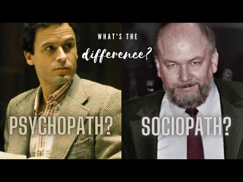 PSYCHOPATH VS SOCIOPATH ; WHAT ARE THE DIFFERENCES?