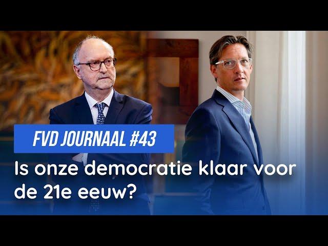 Is onze democratie klaar voor de 21ste eeuw? - FVD Journaal #43