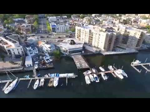 drone over sheepshead bay