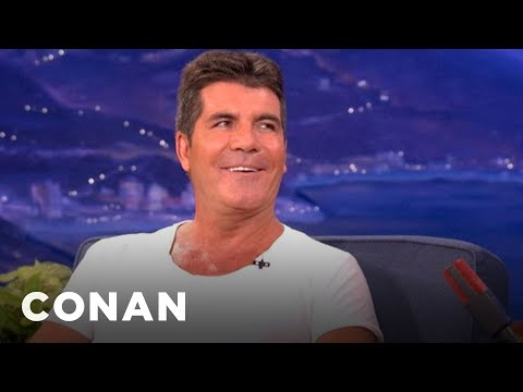 Simon Cowell Would Rather Be Booed Than Cheered - CONAN on TBS