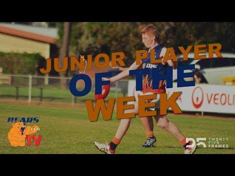 BEARS TV - Junior Player of the Week -  Lauchlan (Milkie) Wright