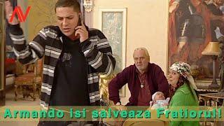Armando isi salveaza Fratiorul! -- Augustin Viziru in Regina (secvente Showreel)