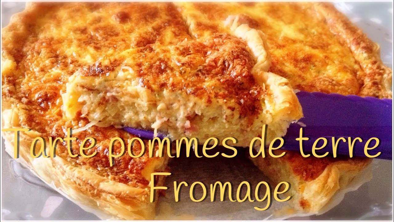 tarte pommes de terre fromage youtube. Black Bedroom Furniture Sets. Home Design Ideas
