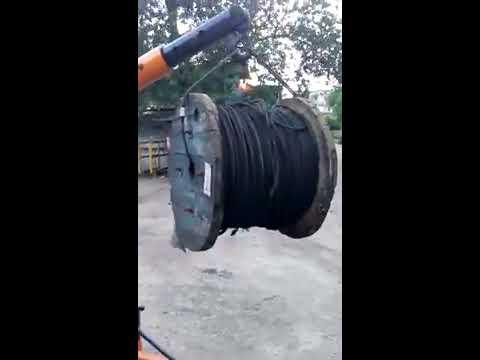 Load Testing Floor Crane at Tata By D. B. Impex & Trade, Kolkata