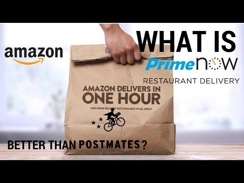 WTF is Amazon Prime Now Restaurants? - Vlog#8