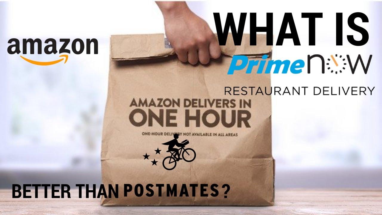 cb1b215dd9c5 WTF is Amazon Prime Now Restaurants  - Vlog 8 - YouTube