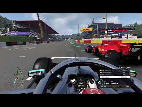 110 AI KEYBOARD ON BELGIUM F1 2019 |