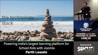 JWC 2016 - Powering India's Largest Learning Platform for School Kids with Joomla! - Parth Lawate thumbnail