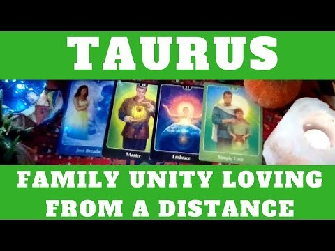 "TAURUS OCTOBER 2017 TAROT READINGS ""FAMILY UNITY LOVING FROM A DISTANCE"""