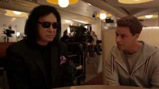 Gene Simmons gästar Welcome to Sweden (TV4)