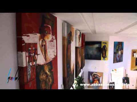 Abbas Al Mosawi's Private Art Gallery (in the making)-Part I