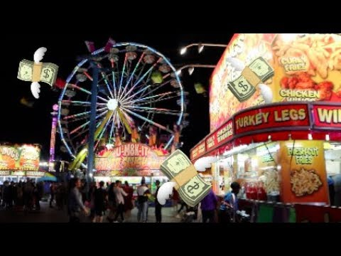 I LOST ALL MY MONEY AT THE EX (**DON'T GAMBLE KIDS**)
