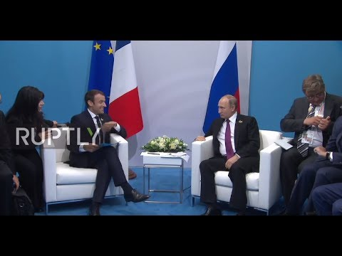 Germany: Putin pokes fun at Macron over late entrance for G20 meeting
