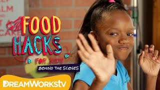 Food Hacks for Kids Behind the Scenes with Shanynn | THE DREAMWORKS DOWNLOAD