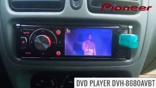 Dvd Pioneer DVH 8680AvBt - Como Gravar Vídeo no Pen Drive e Assistir no DVD