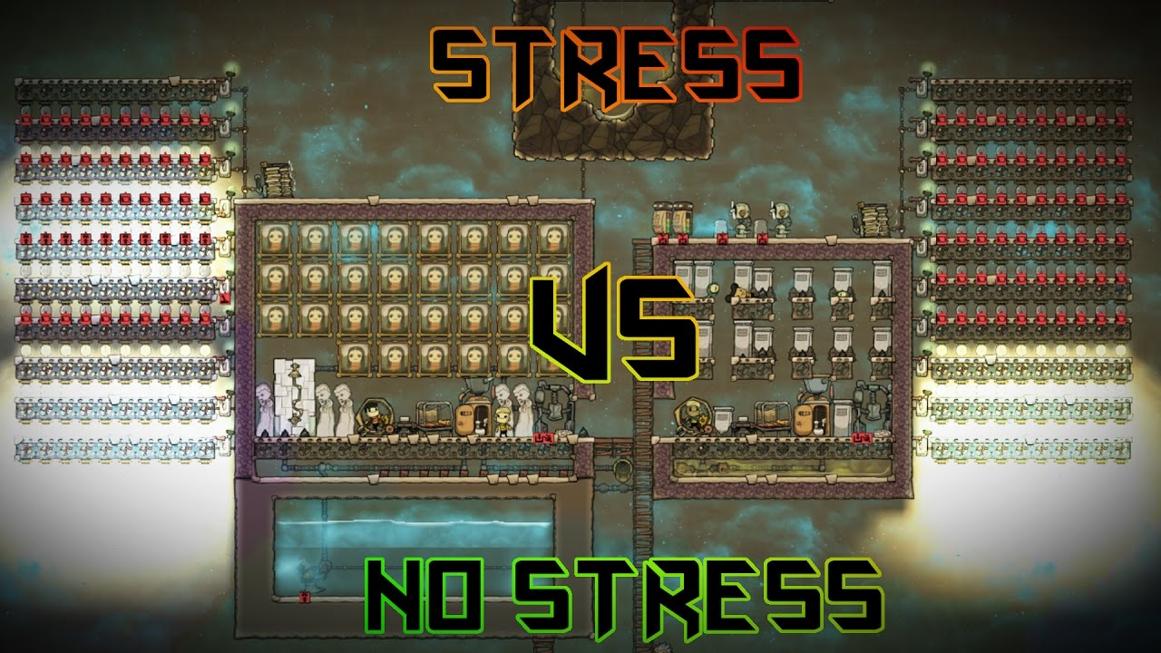STRESS vs POWER vs LEVEL Experiment! Oxygen Not Included Tutorial
