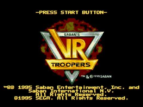 Mega Drive Longplay [388] VR Troopers