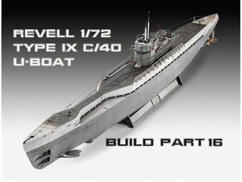 Type IX C 40 U Boat Build Part 16