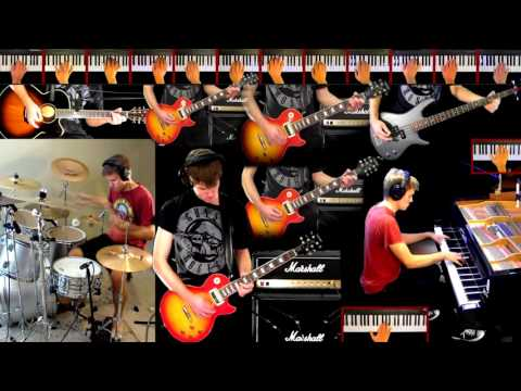 November Rain Guns N' Roses Guitar (Solo) Bass Strings Piano Drum Cover